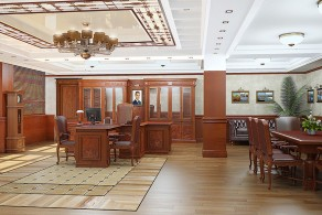 Офис строительной компании