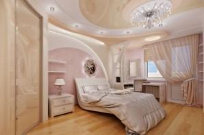 Маленькая спальная для романтической девушки в Екатеринбурге